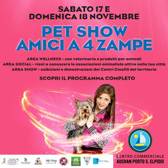 Auchan - Novembre 2018 Pet show
