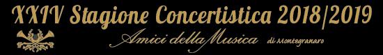 Montegranaro - Concertistica 2018