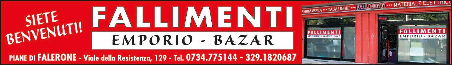 Fallimenti Emporio Bazar